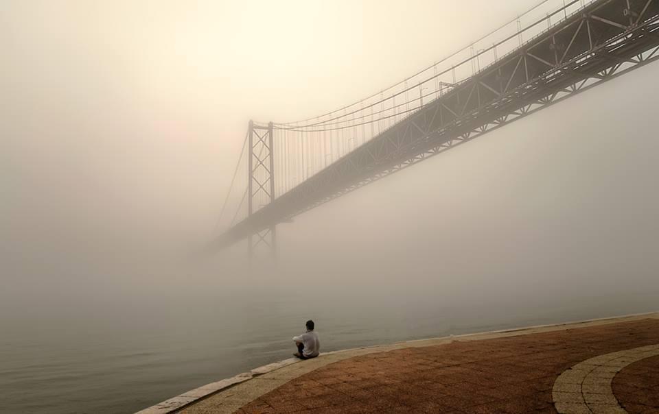 bridge lonely